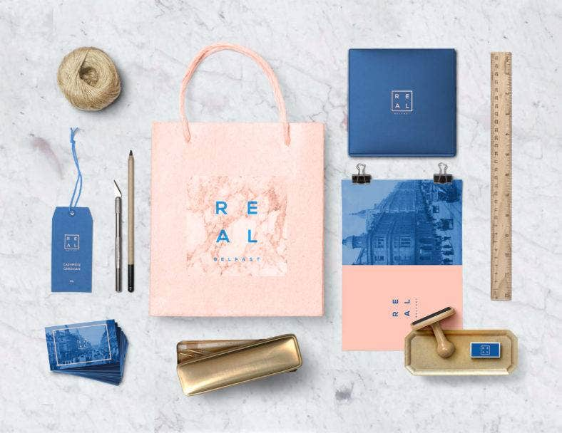 REAL Branding Stationery Set