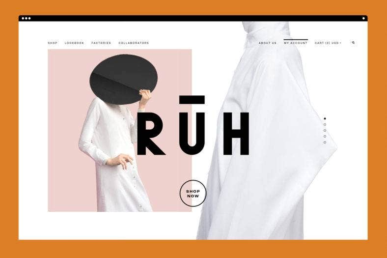 RUH Website Branding Design