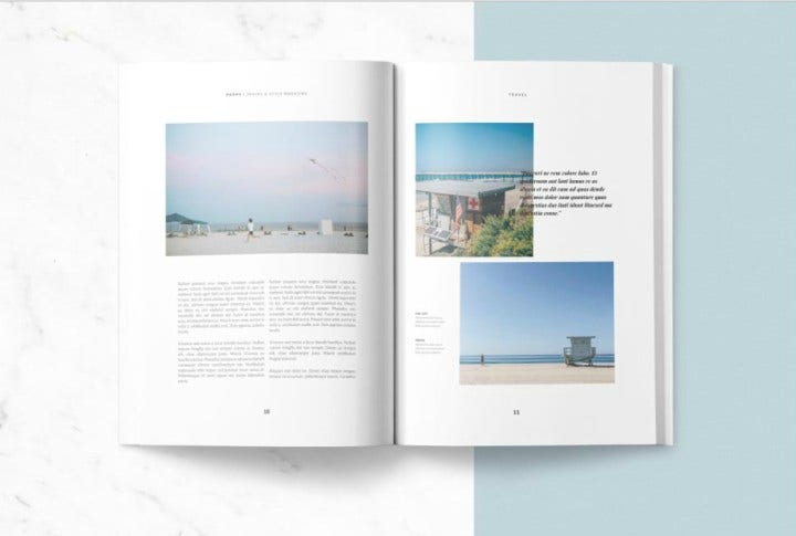 Poppy Magazine Template