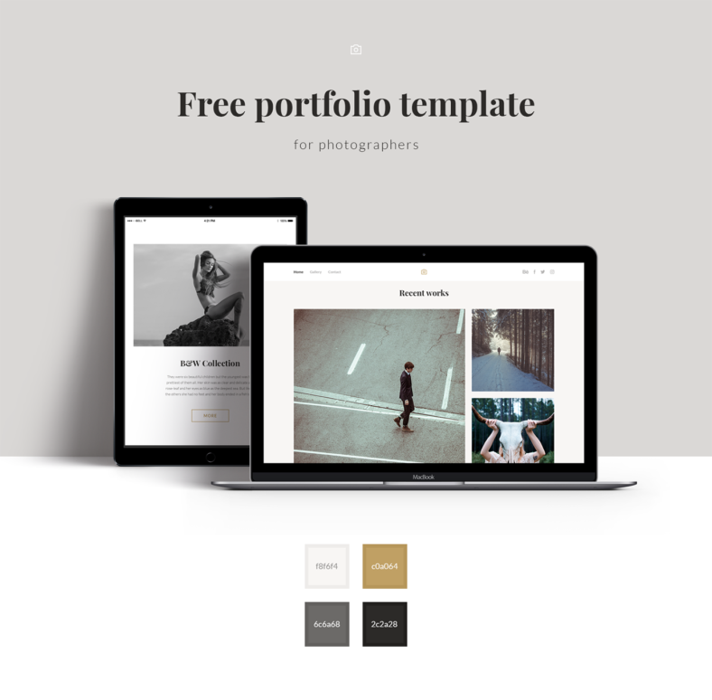Photography Portfolio Template: Free & Premium Templates