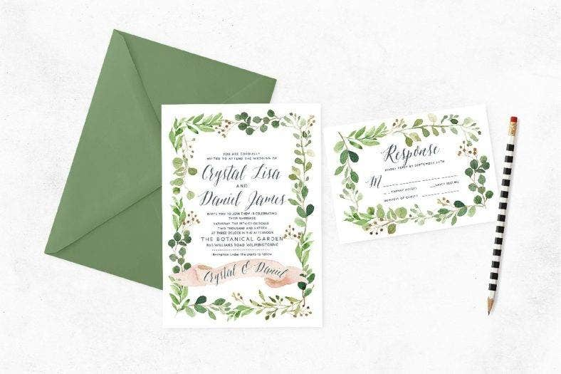 Watercolor Event Invite
