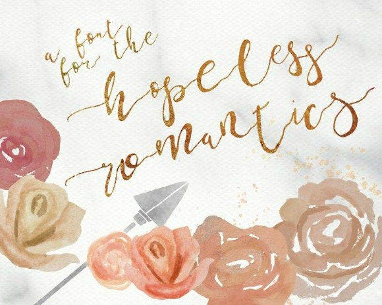Hopeless Romantic Font