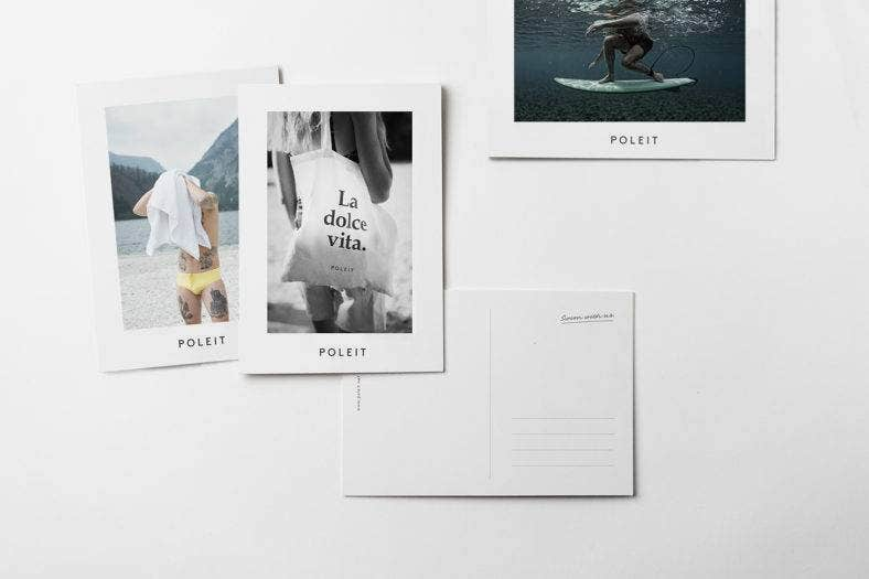 Poleit Swimwear Branding Designs
