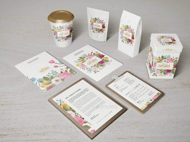 Floral Cafe Visual Identity
