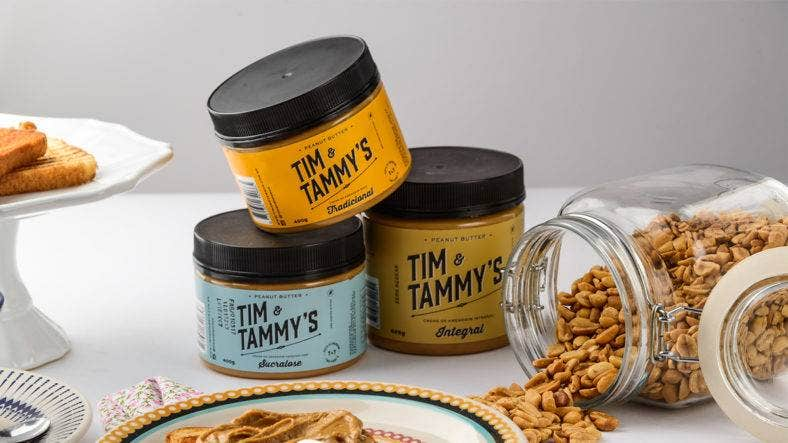 Tim and Tammy's Packaging Design