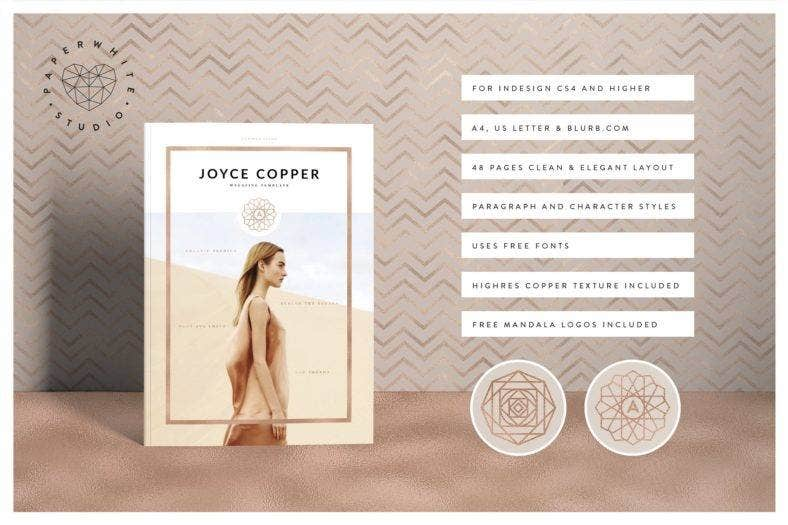 Joyce Cooper Magazine Template Set