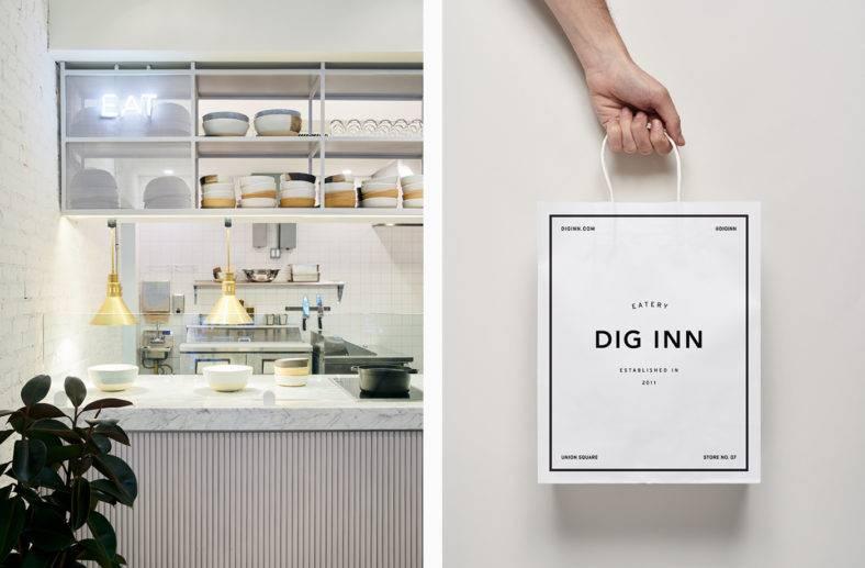 Dig Inn Branding