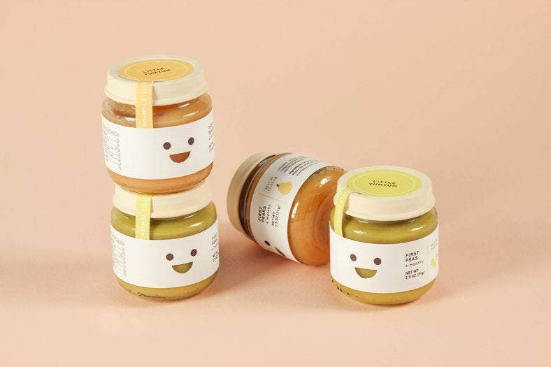 Oragnic Baby Food Packaging