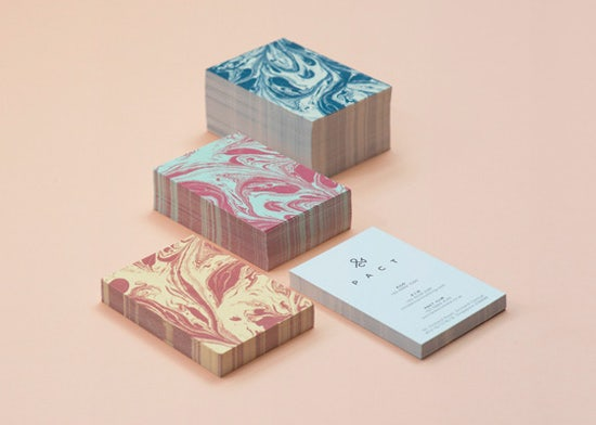 PACT Business Card Designs