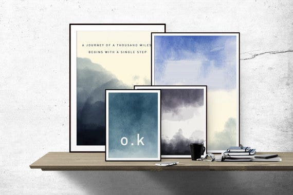 Gradient Watercolor Backgrounds