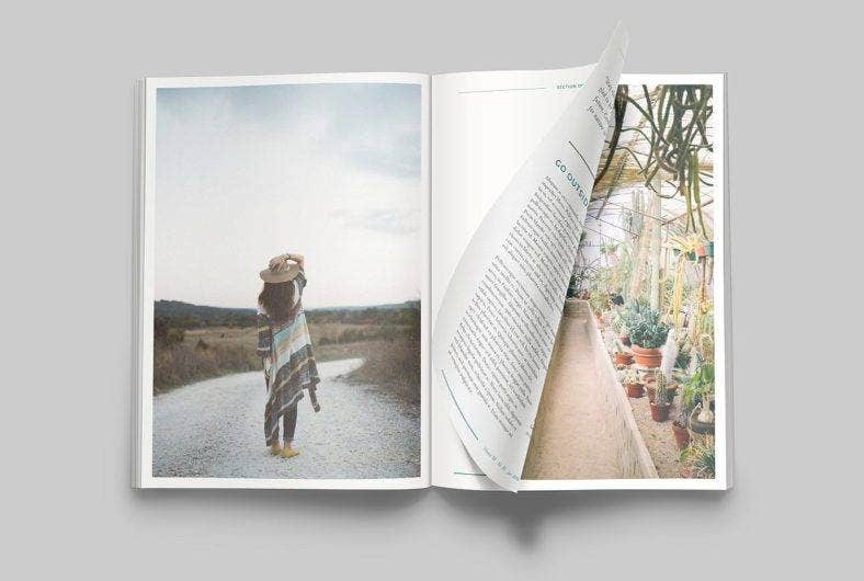 Juniper Magazine Template