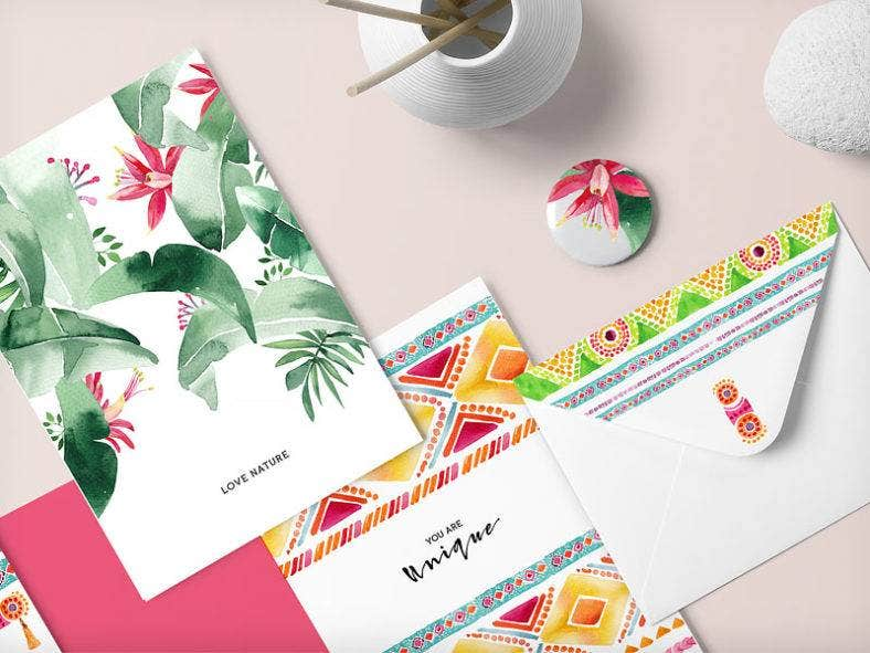 Summer Envelope Designs