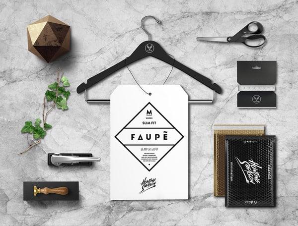 Faupe Branding Set