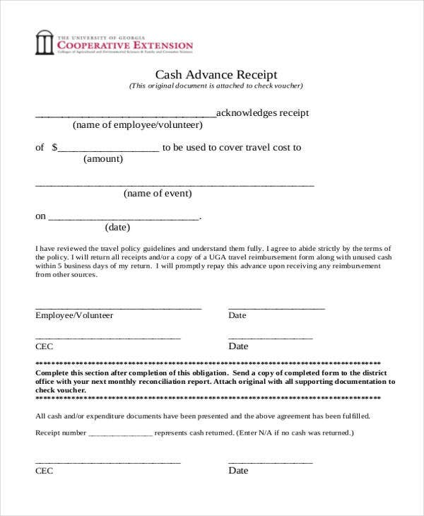 advance cash