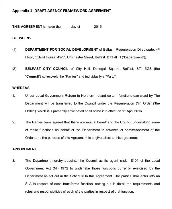 agency agreement1