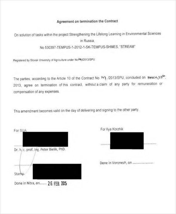 agreement contract6