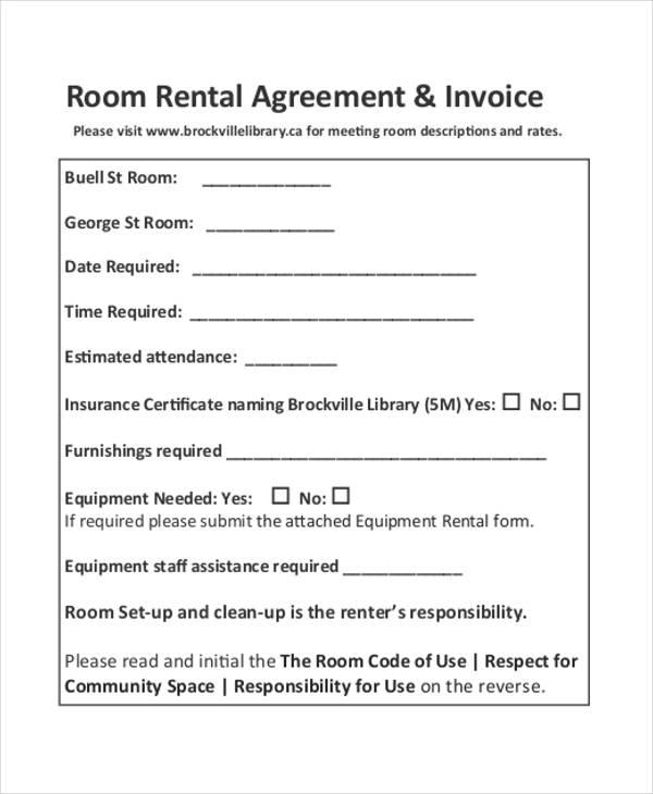 agreement invoice1