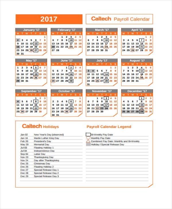 annual calendar1