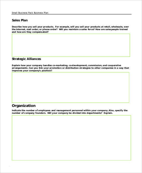 29 free business plan templates free premium templates annual sales business plan friedricerecipe Image collections