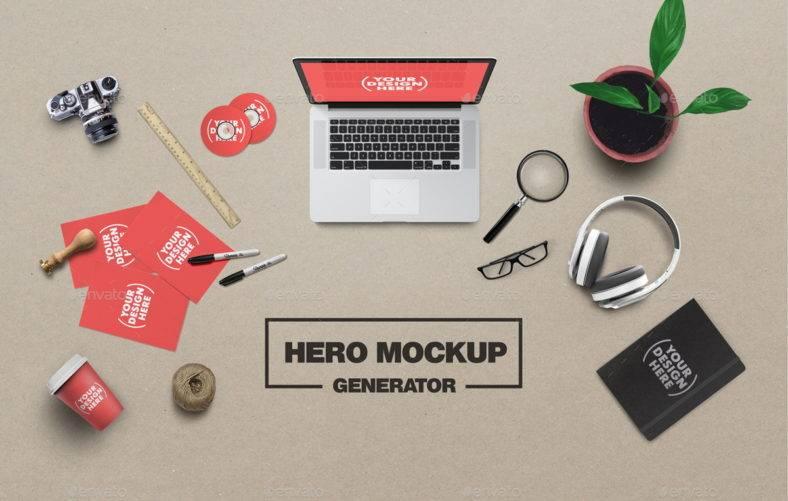 artist-hero-generator
