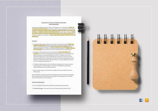 assignment-of-rights-in-computer-software-with-reservation-template