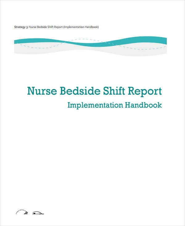 examples of nursing report sheets