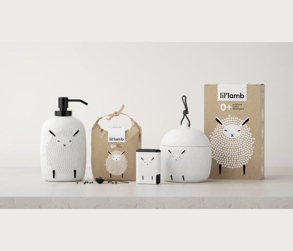 baby detergent packaging design
