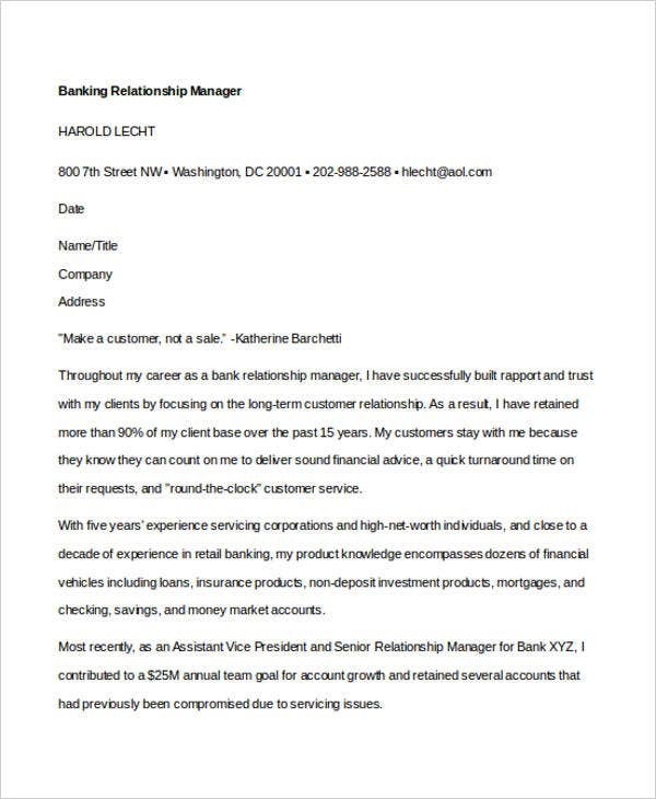 Attractive 12+ Banking Cover Letter Templates   Sample, Example | Free U0026 Premium  Templates