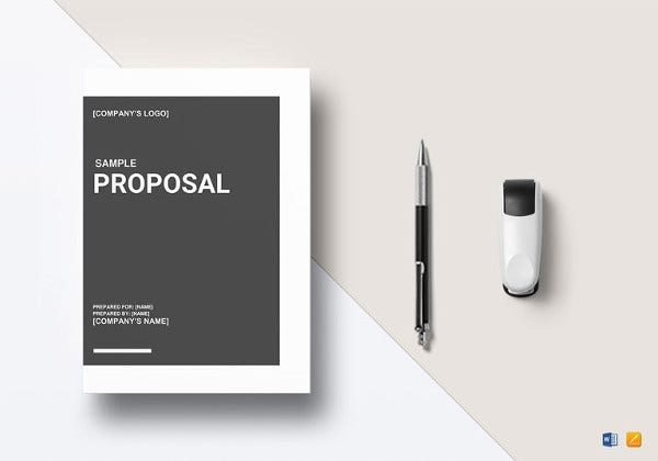 basic editable proposal outline word template