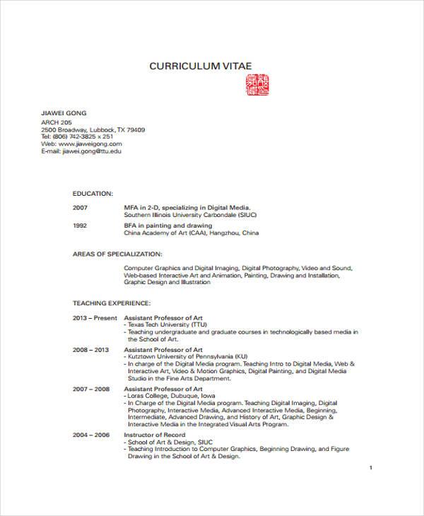 7 Graphic Curriculum Vitae Templates Pdf Doc Free Premium