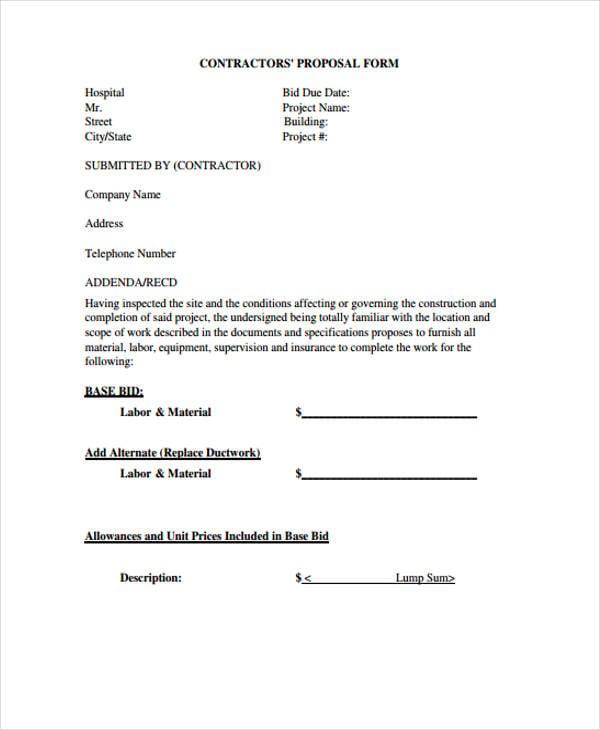 bid proposal1