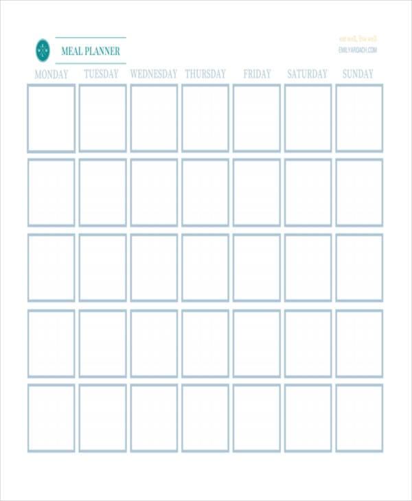 blank calendar2