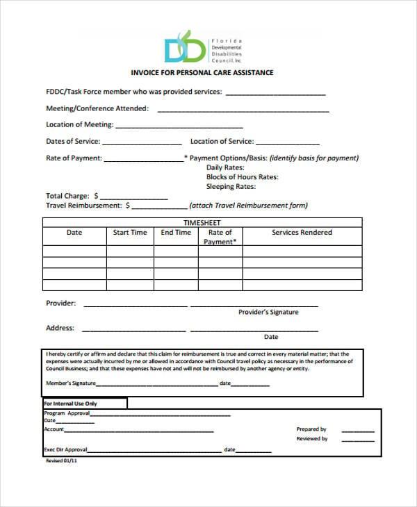 blank invoice8