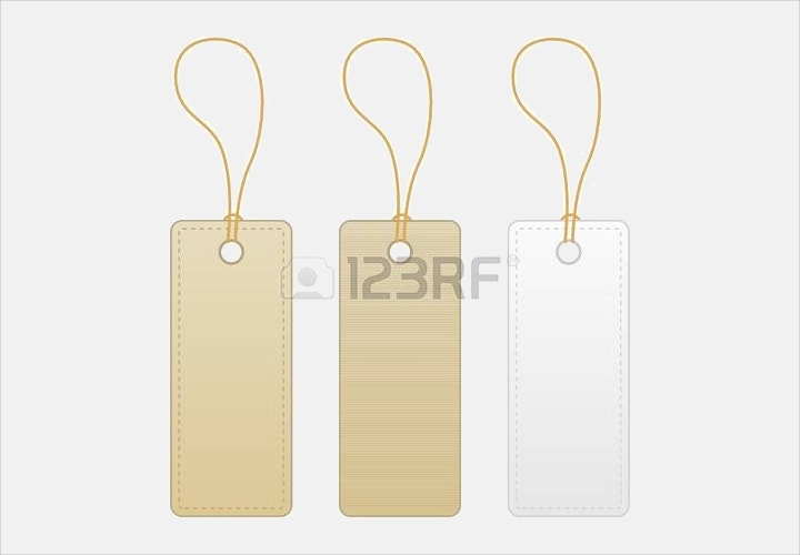 blank label tag