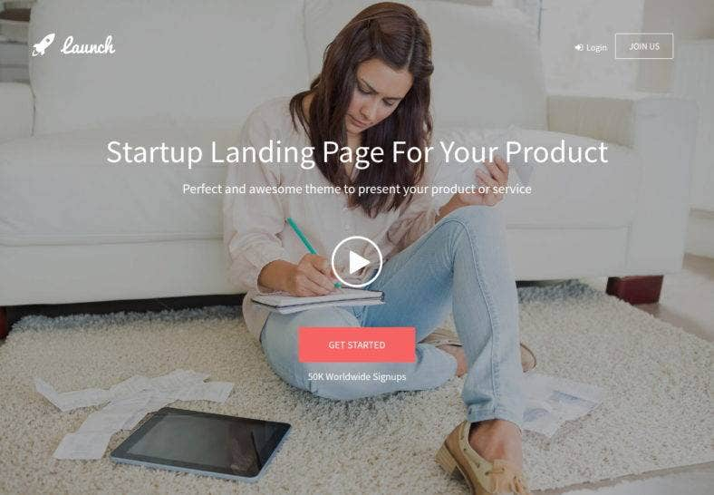 bootstrap-landing-page