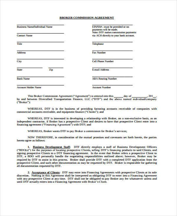 Import Export Broker Commission - WaystoCap