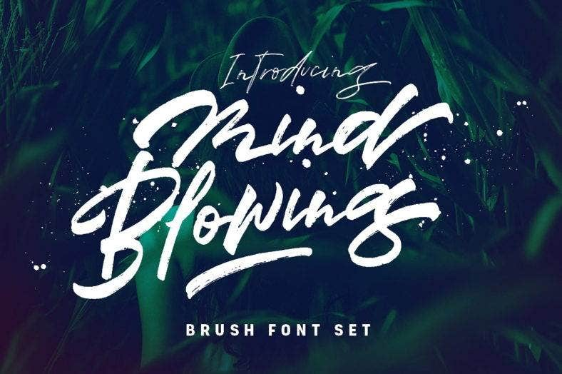 brush-font