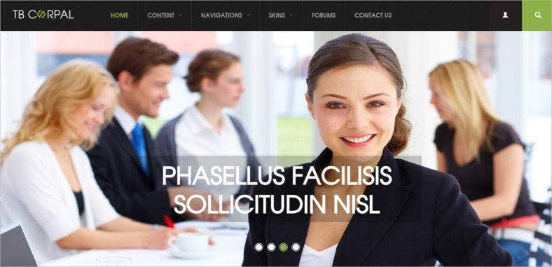 business-drupal-theme