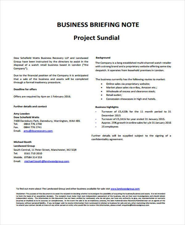 business note2
