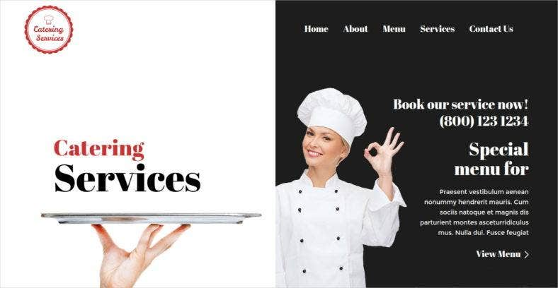 catering services wordpress themes 788x408