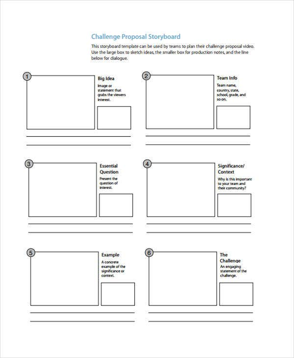 Proposal storyboard template – pewna-apteka. Eu.