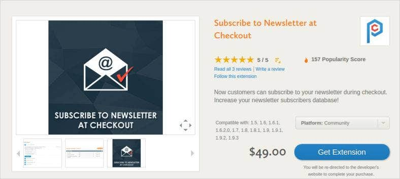 checkout newsletter template 788x354