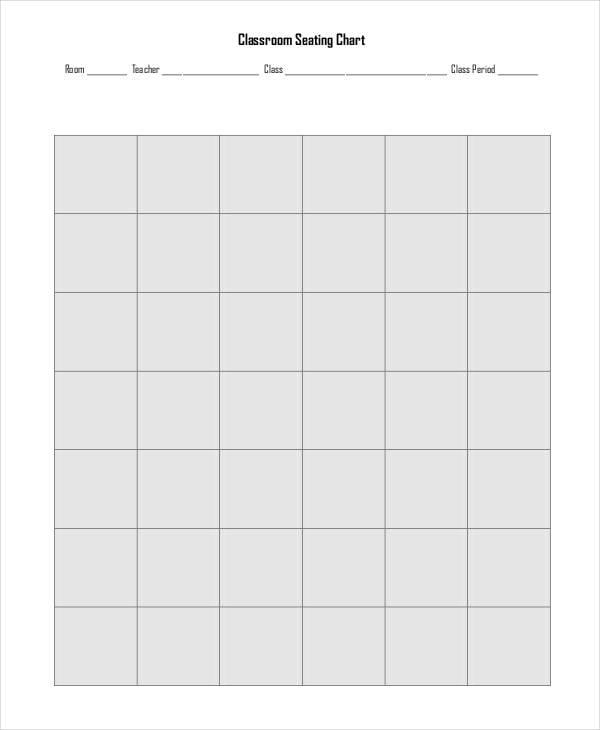 classrom chart