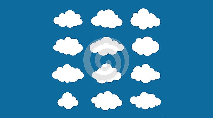 cloud shapes pack