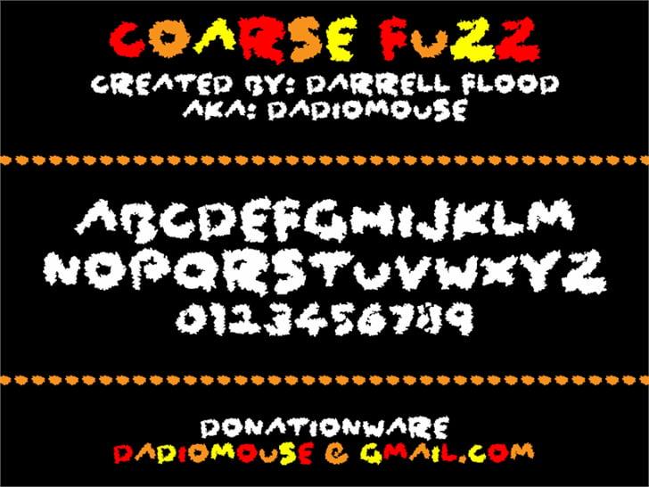 coarse-fuzz-font