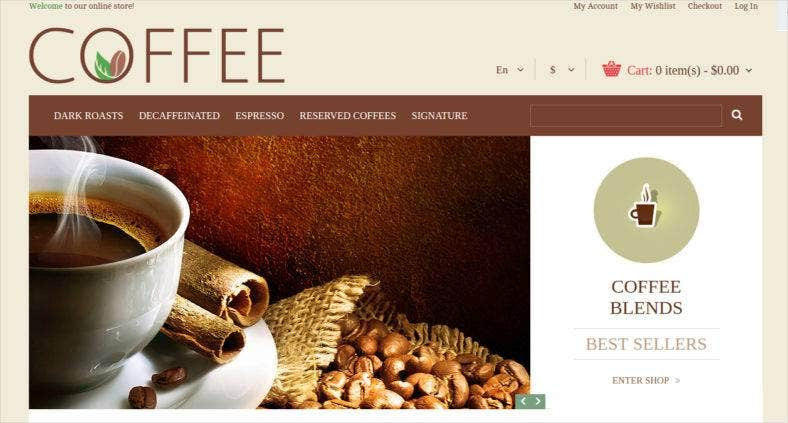 coffee-magento-theme