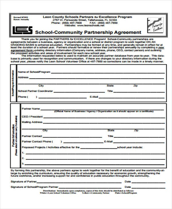 community agreement