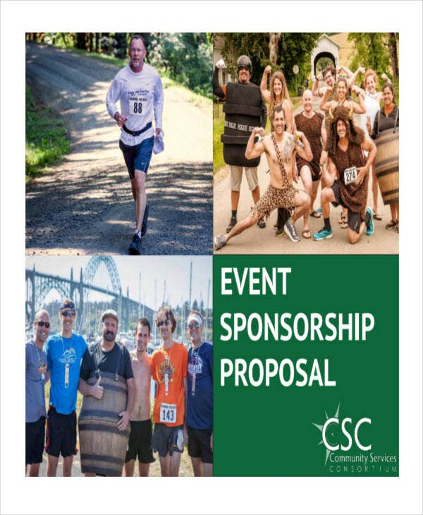 12 Event Sponsorship Proposal Templates Free Sample Example