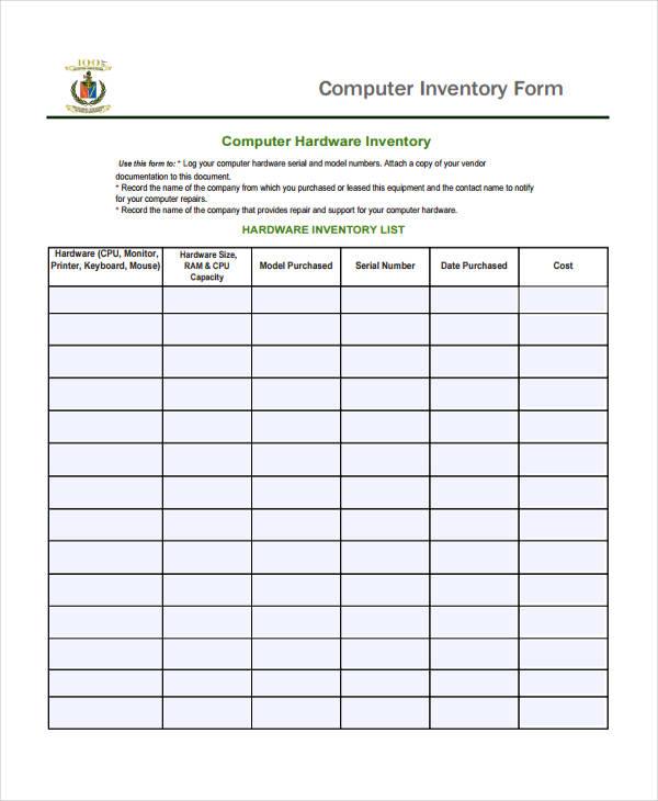 41 free inventory templates free premium templates. Black Bedroom Furniture Sets. Home Design Ideas