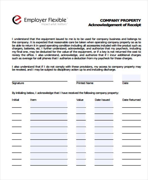 company property